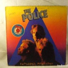 Discos de vinilo: THE POLICE -ZENYATTA MONDATTA - LP AM RECORDS 1980 ED. Lote 101059259