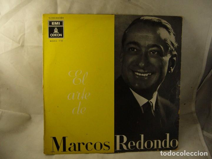 el arte de marcos redondo. odeon 1959 - Comprar Discos Singles ...