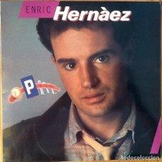 Discos de vinilo: ENRIC HERNAEZ : 7 PM [ESP 1986]. Lote 101064539