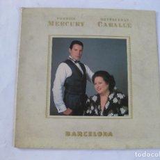 Discos de vinilo: FREDDIE MERCURY - MONTSERRAT CABALLE - BARCELONA - SE VENDE SOLO LA PORTADA ( SIN DISCO DENTRO). Lote 101067179