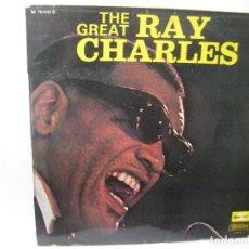 Discos de vinilo: RAY CHARLES - THE GREAT - SE VENDE SOLO PORTADA (SIN VINILO EN EL INTERIOR) . Lote 101068179