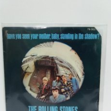 Discos de vinilo: SINGLE ** HAVE YOU SEEN YOUR MOTHER, BABY STANDING IN THE SHADOW**COVER/VERY GOOD+ **EP/VERY GOOD+ . Lote 101085543