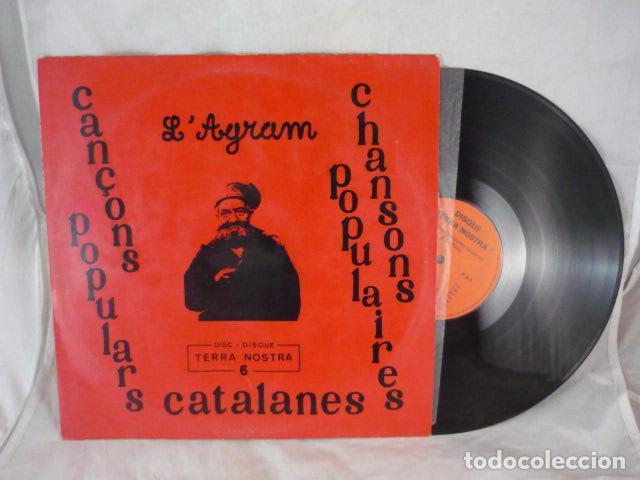 Discos de vinilo: LAGRAM - CANÇONS POPULARS CATALANES - TERRA NOSTRA 6 - LP FRANCIA CAT.NORD. - Foto 3 - 101088363