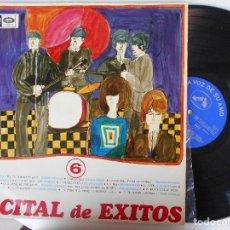 Discos de vinilo: LP RECITAL DE EXITOS-VARIOS 1966. Lote 101089215