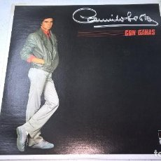 Discos de vinilo: CAMILO SESTO - CON GANAS -LP-EDICION VENEZUELA-N.. Lote 101094027