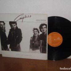 Discos de vinilo: CÓMPLICES MAXI 45 RPM MEGA RARE VINTAGE SPAIN 1987. Lote 101094919