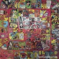 Discos de vinilo: APARTATE QUE PISO MIERDA - LP PUNK. Lote 101095835
