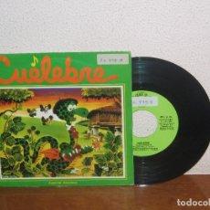 Discos de vinilo: CUELEBRE 7´´ MEGA RARE VINTAGE SPAIN 1982. Lote 101096083