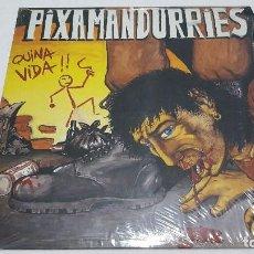 Discos de vinilo: LP - PIXAMANDURRIES - QUINA VIDA - PICAP 10 0045 - 1990. Lote 101096803