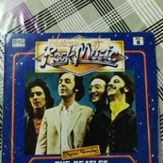 Discos de vinilo: THE BEATLES HISTORY OF ROCK MUSIC LP 1982 DRUMS BILP-20006 EDICION ESPAÑOLA. Lote 101099383