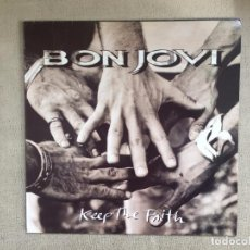 Discos de vinilo: BON JOVI -KEEP THE FAITH- (1992) LP DISCO VINILO. Lote 101099859