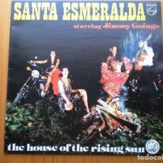 Discos de vinilo: LP 1978 SANTA ESMERALDA / STARRING JIMMY GOINGS ,BIEN VER ESTADO Y CANCIONES EN MAS FOTOS . Lote 101104775