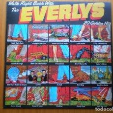 Discos de vinilo: LP 1975 WALK RIGHT BACK WITH / THE EVERLYS, ,BIEN VER ESTADO Y CANCIONES EN MAS FOTOS . Lote 101106183