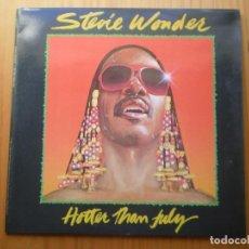 Discos de vinilo: LP 1980 STEVIE WONDER / HOTTER THAN JULY ,BIEN VER ESTADO Y CANCIONES EN MAS FOTOS . Lote 101107315