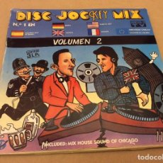 Discos de vinilo: DISC-JOCKEY MIX VOLUMEN 2 - TRIPLE LP. KEY RECORDS. 1987. CONTIENE HOJA CONCURSO Y PEGATINA.. Lote 101108951