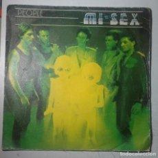 Discos de vinilo: MI-SEX - PEOPLE / PAGES AND MATCHES (SINGLE ESPAÑOL DE 1980). Lote 101111827