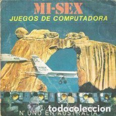 Discos de vinilo: MI-SEX - JUEGOS DE COMPUTADORA (COMPUTER GAMES) - SINGLE SPAIN 1980 COMPARTIR LOTE. Lote 101111871