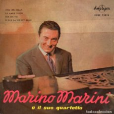 Discos de vinilo: MARINO MARINI Y SU CUARTETO, EP, CHU CHU BELLA + 3, AÑO 1958. Lote 101128379