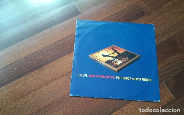 BLUR-GIRLS AND BOYS.PET SHOP BOYS REMIX.MAXI ITALIA (Música - Discos de Vinilo - Maxi Singles - Pop - Rock Internacional de los 90 a la actualidad)