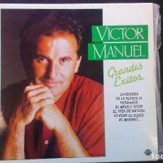 Discos de vinilo: LP VICTOR MANUEL GRANDES ÉXITOSA STURIAS. Lote 101130135