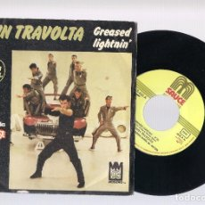 Discos de vinilo: JOHN TRAVOLTA (GREASE) - GREASED LIGHTNIN' - BABY Y COULD BE SO GOOD A LOVIN'YOU (SG 7'' 1978). Lote 101131703