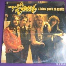 Discos de vinilo: TIGRES LP RCA 1984 - LISTOS PARA EL ASALTO - HEAVY METAL - HARD ROCK. Lote 101132583