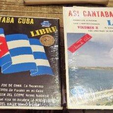 Discos de vinilo: ASI CANTABA CUBA,2 LPS. EDITADO EN USA, AÑOS 60-70, MUY RAROS. Lote 101134435