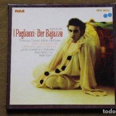 Discos de vinilo: LEONCAVALLO - I PAGLIACCI - DER BAJAZZO . Lote 101136611