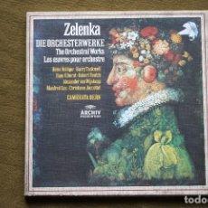 Discos de vinilo: JAN DISMAS ZELENKA - CAMERATA BERN. Lote 101136955