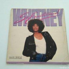 Discos de vinilo: WHITNEY HOUSTON - SO EMOTIONAL. Lote 101137883