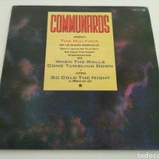 Discos de vinilo: THE COMMUNARDS - THE MULTIMIX. Lote 101139375
