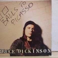 Discos de vinilo: BRUCE DICKINSON - BALLS TO PICASSO - GATEFOLD - 1994 - 1ST PRESS - UK - EX+/VG+. Lote 151901404