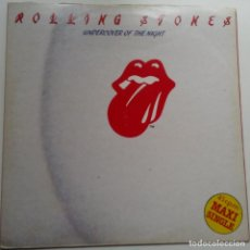 Discos de vinilo: THE ROLLING STONES - UNDERCOVER OF THE NIGHT- MAXI SINGLE SPAIN 1983.. Lote 101139975