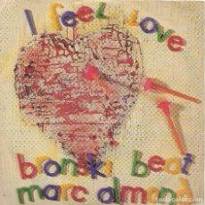 Discos de vinilo: ** SB148 - SINGLE - I FEEL LOVE - BRONSKI BEAT - MARC ALMOND. Lote 101146031