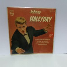Dischi in vinile: EP ** JOHNNY HALLYDAY ** NOUS, QUAND ON S'EMBRASSE *COVER/EXCELLENT(EX)*EP/EXCELLENT(EX)1961. Lote 101146115