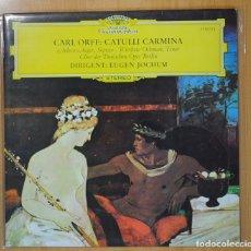 Discos de vinilo: EUGEN JOCHUM / CARL ORFF - CATULLI CARMINA - LP. Lote 101151548