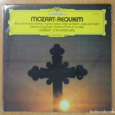 Discos de vinilo: KARAJAN / MOZART - REQUIEM - LP. Lote 101151595