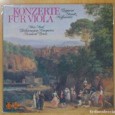 Discos de vinilo: PAGANINI / STAMITZ / HOFFMEISTER - KONZERTE FUR VIOLA - LP. Lote 101151744