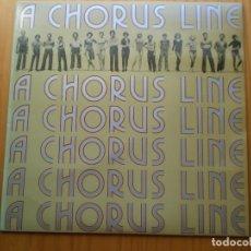 Discos de vinilo: LP 1975 A CHORUS LINE, BIEN ,VER ESTADO Y CANCIONES EN MAS FOTOS,. Lote 101164843