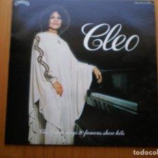 Discos de vinilo: LP 1978 CLEO LAINE / 20 FAMOUS SHOW HITS , BIEN ,VER ESTADO Y CANCIONES EN MAS FOTOS,. Lote 101166123