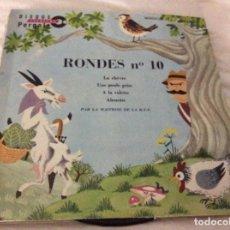 Discos de vinilo: RONDES N 10. Lote 101167423