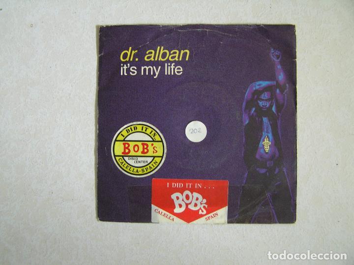 DR. ALBAN – IT'S MY LIFE - SWEMIX RECORDS 1992 - MAXI - P - (Música - Discos - Singles Vinilo - Electrónica, Avantgarde y Experimental)
