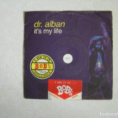 Discos de vinil: DR. ALBAN ‎– IT'S MY LIFE - SWEMIX RECORDS 1992 - MAXI - P -. Lote 101182363