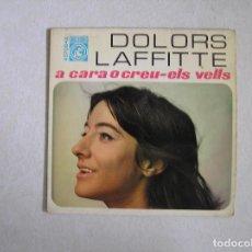 Disques de vinyle: DOLORS LAFFITTE – A CARA O CREU / ELS VELLS - CONCENTRIC (2) 1968 - SINGLE - P. Lote 101187139