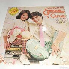 Discos de vinilo: LP MULTIPLICA CON ENRIQUE Y ANA- TEXTOS GLORIA FUERTES- HISPAVOX 1980 3. Lote 101200996