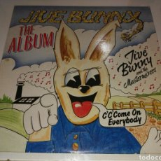 Discos de vinilo: JIVE BUNNY AND THE MASTERMIXERS- LP THE ALBUM- MUSIC FACTORY ENGLAND 3. Lote 101203571