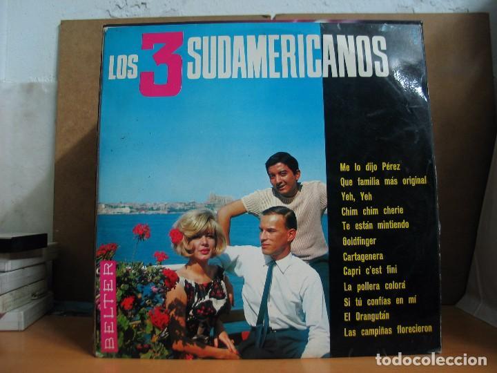 LOS 3 SUDAMERICANOS - IDEM - BELTER 22.001 - 1966 (Música - Discos - LP Vinilo - Grupos Españoles 50 y 60)
