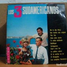 Discos de vinilo: LOS 3 SUDAMERICANOS - IDEM - BELTER 22.001 - 1966. Lote 101203823