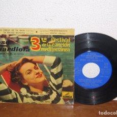 Discos de vinilo: JOSÉ GUARDIOLA 7´´ MEGA RARE EXTENDED PLAY ESPAÑA 1961. Lote 101211423