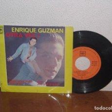 Discos de vinilo: ENRIQUE GUZMÁN 7´´ MEGA RARE EXTENDED PLAY ESPAÑA 1962. Lote 101212379